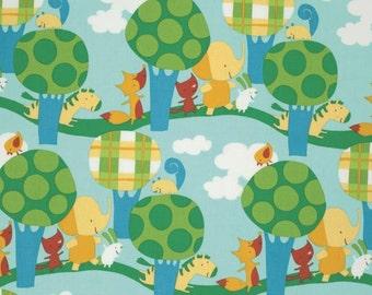 Park Walk fabric by David Walker
