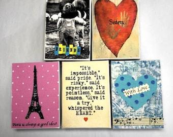 Personalized Gift Box, Gift Box, Hand Decorated Box, Custom Box, Paris Box, Friends Box, Sisters Box