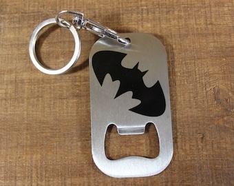 Batman Bottle Opener Key Chain