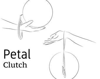 PDF Petal Clutch Sewing Pattern
