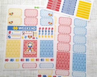 Autism Awareness Weekly Kit (Set of 40) Item #213