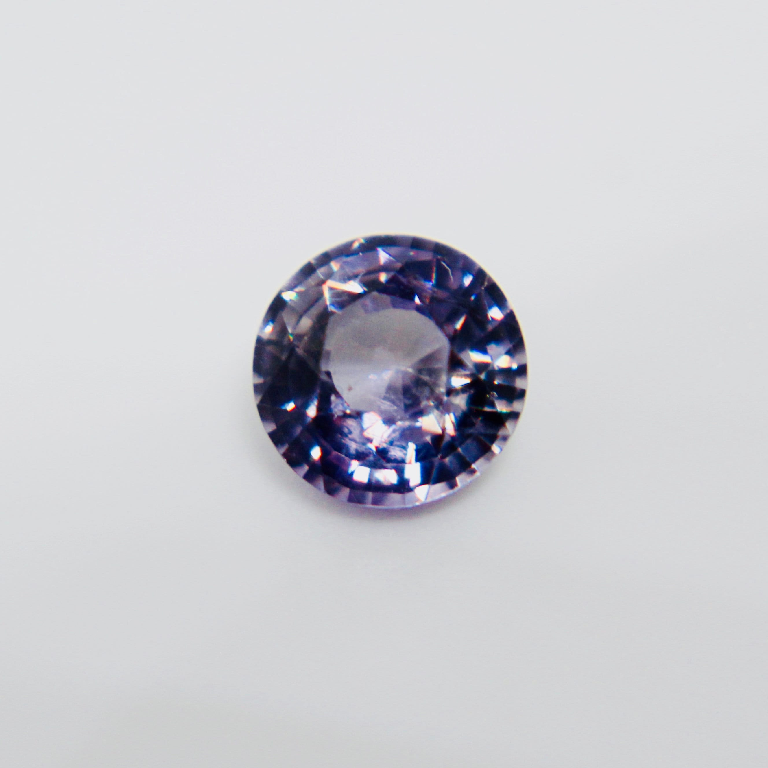 ceylon sapphire i purple violetish blue color ct ring to a change untreated engagement diamond