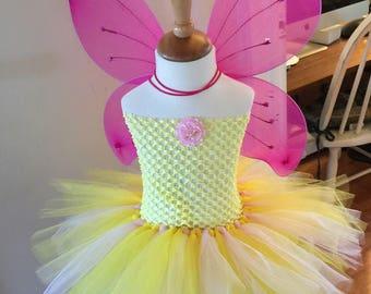 Strawberry Lemonade Tutu dress