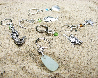 Beach Non-Snag Stitch Markers