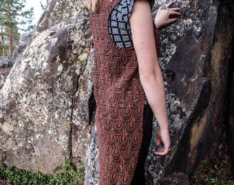Bohemian Lace Vest // Longtail Vest