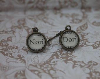 Nori ~ Dori Earrings ~ The Hobbit ~ J.R.R Tolkien ~