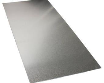 Aluminium Metal Sheet 100mm x 254mm