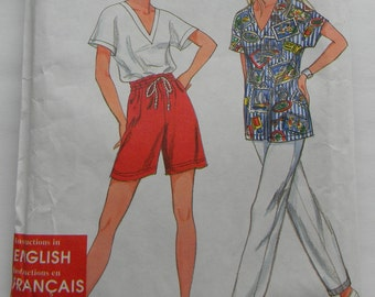 Simplicity Misses Pants, Shorts and Top Pattern N9564, Unuct All sizes