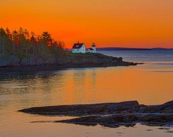 Curtis Lighthouse, Camden Maine