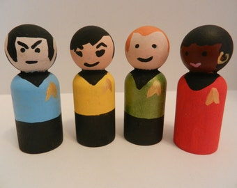 Star Trek Peg People