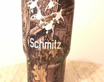 Custom Decal for Tumbler / Personalized Yeti / Stainless Steel Tumbler Label