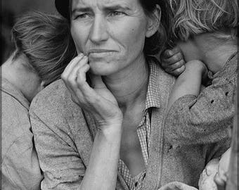 Poster, Many Sizes Available; Migrant Mother Dorothea Lange