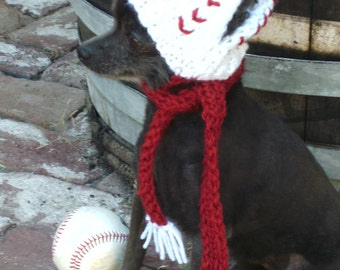 Dog hat- baseball size small