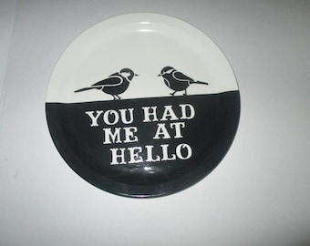 The Plate Collection.Plate Collectors, Plate Collage,  Inspirational plates, Sentimental Wall Hangings, Handmade Plates
