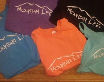 Original mountain life tee