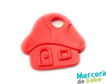 Decorative red - mushroom house shape - C08 - R5 element