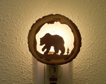 Grizzly Bear nightlight