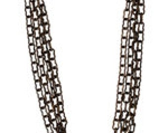Vintaj 1.5mm Extra Fine Cable Chain - 24 inches