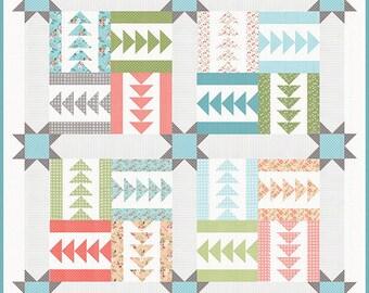 Bluegrass quilt pattern by Lella boutique