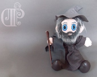Gandalf The Lord of the Rings Plush Doll Plushie Toy