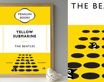 The Beatles Yellow Submarine Movie - Penguin style book cover