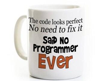 Programmer Coffee Mug - Funny Computer Science Gift - Java