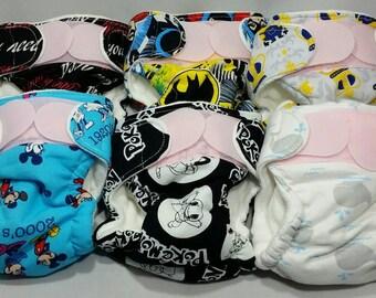 Seconds Preemie AIO Diaper Kit