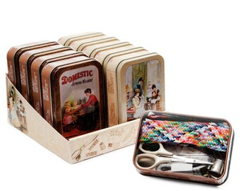 Sewing Kit in Nostalgic Tin
