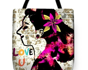 Love you Signature Bag