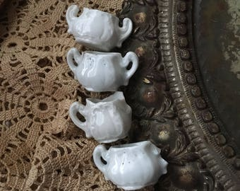 Tiny Treasures Antique Ironstone Serving Dishes