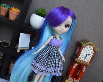 Dress purple Airithy [Pullip, Obitsu 27 cm =]