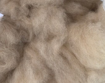 Kid Mohair and Alpaca Roving