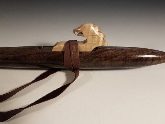 Native American Style Flute, Walnut, mid G