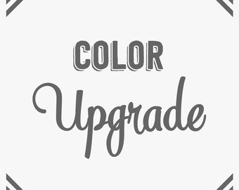 Add-On for Color Upgrade