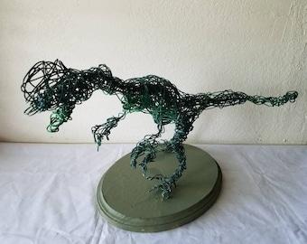 The Dilophosaurus