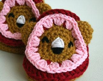 CROCHET PATTERN,  leo the Lion booties crochet pattern, pattern Instant Download 213