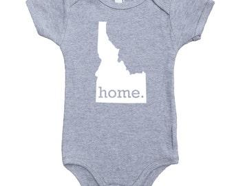 Homeland Tees Idaho Home Unisex Baby Bodysuit