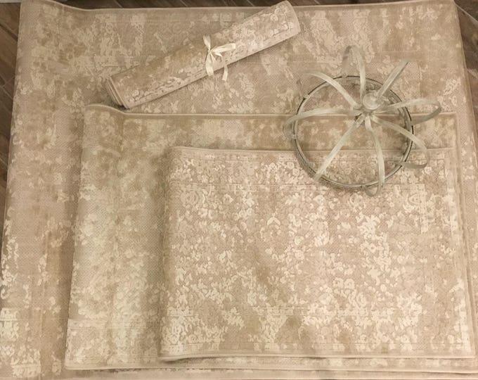 Velvet Carpet and Cotton
