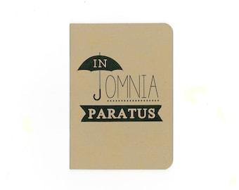 In omnia paratus notebook