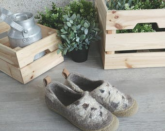 READY to SHIP Anti slippery flat bottom shoes with wild design - minimalist shoes us womens size 8.5/ eu size 39