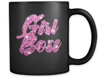 Girl Boss Mug | Gift For Promotion | Gift For Boss | Boss Lady Gift | Graduation Gift For Girl