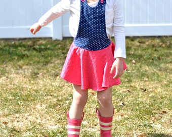 Abby's Overalls - PDF Sewing Pattern