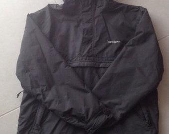 Navy Blue Carhartt WIP Nimbus W winter jacket size L