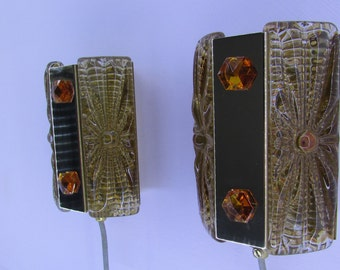 A Pair of Danish Vitrika Aladdin Wall Sconces/Lights (Design no.: 15415)