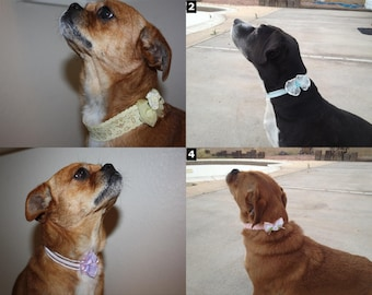 Dog Lace Choker Necklaces - SELECT STYLE - Neckerchief Costume Collar Neck Tie