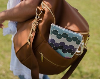 Vegan Purse Wristlet Wallet Women Phone Wristlet Large Zipper Pouch Cellphone Case Wallet Felt Pouch