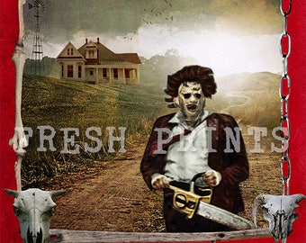 The Texas Chainsaw Massacre Poster print
