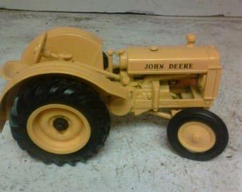 John Deere industrial toy tractor