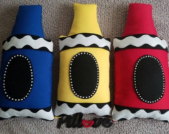 Crayon Pillow
