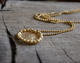 Antique gold coin necklace, gold necklace gold coin pendant dainty 14k gold necklace minimalist necklace bridesmaid necklace graduation gift